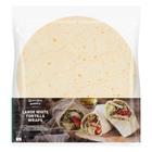 PnP Large White Tortilla Wrap 6s