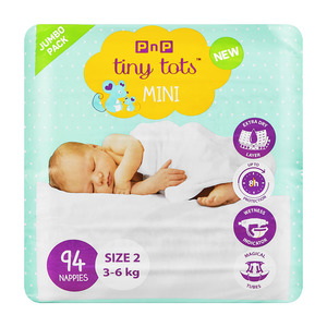 PnP Tiny Tots Mini Size 2 94s
