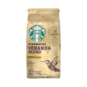 Starbucks® VERANDA BLEND Blonde Roast Ground Coffee 200g Bag