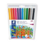 Staedtler Fibre Colour Pens Wallet 12s