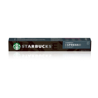 Starbucks Espresso Roast by Nespresso Dark Roast Coffee Capsules 10s