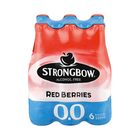 Strongbow Red Berries 0.0 Non Alcoholic 330ml x 6