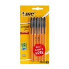 BIC Orange Fine 3+2 Black Pens