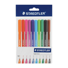 Staedtler Ballpoint 10 Assorted Colours