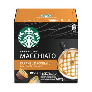 Starbucks® Caramel Macchiato by Nescafé® Dolce Gusto® Coffee Capsules box of 12
