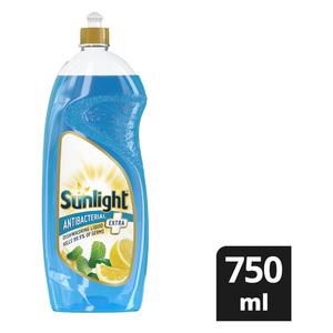 Sunlight Extra Dishwashing Liquid Antibacterial 750ml