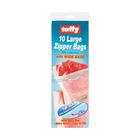 Tuffy Large Zipper Bags 10ea