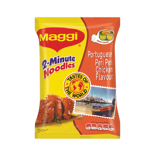 Maggi 2-Minute Noodles Portuguese Peri Peri Chicken Flavour 73g