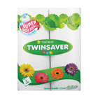 Twinsaver Roller Towel 2ply C/white 2ea