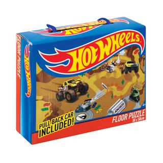 Hot Wheels Floor Puzzle+pull B