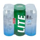Castle Lite Beer Can 500ml x 6