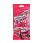 Super-max Ladies Triple Disposable Razor s 5ea