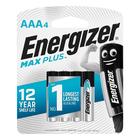 Energizer Maxplus AAA Batteries 4 Pack