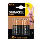 Duracell Alkaline Batteries Plus Power AA 4+2