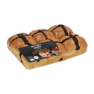 PnP Chocolate Hot Cross Buns 6s
