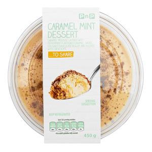 PnP Caramel Mint Dessert 450g