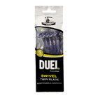 Duel Twin Blade Swivel Disposable Razor 7ea