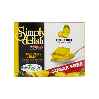 Simply Delish Sugar Free Pineapple Jelly 7.5g