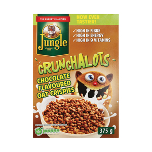 Jungle Crunchalots Cereal Chocolate 375g