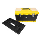 Big Jim Professional Toolbox 50cm Black and Yellow