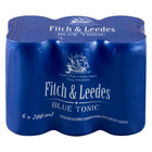 FITCH&LEEDES BLUE TONIC CAN 200ML x 6