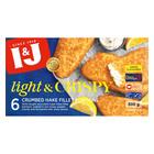I&J Light & Crispy Lemon Hake 500g