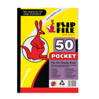 Flip File A4 50 Pocket