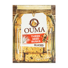 Ouma Rusks Sliced Three Seed 450g