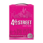4th Street Natural Sweet Rose 3l