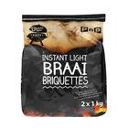 PnP Instant Light Braai Briquettes 2kg