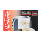 Sunbeam Toaster 2 Slice Stailnless Steel and Black