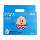No Name Large Eggs 48ea