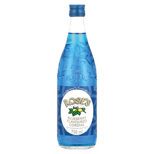 Rose's Cordial Blueberry 750ml