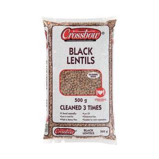 Crossbow Whole Black Lentils 500g
