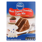 Pillsbury Rich Chocolate Cake Mix 510g