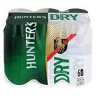 Hunters Dry Can 440ml x 6