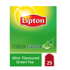 Lipton Clear Green Mint Flavoured Green Tea 25s