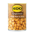 Koo Chick Peas In Brine 400g