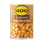 Koo Chick Peas In Brine 400g