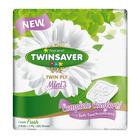 Twinsaver Mini Luxury 2 Ply White 9s