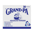 Grand-pa Headache Powders 38s