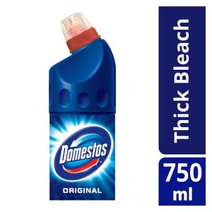 Domestos Regular Multipurpose Thick Bleach 750ml