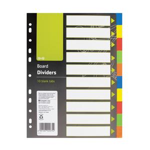 PnP 10 Divider Index Board