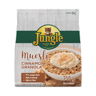 JUNGLE MUESLI GRAN&CINNAMON 750GR