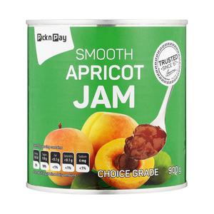 PnP Smooth Apricot Jam 900g