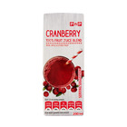 PNP 100% L/L JUICE CRANBERRY 200ML x 6