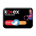 Kotex Maxi Pads Young Normal 10s