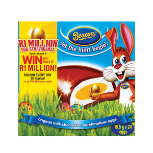 Beacon Marshmallow Eggs 24s