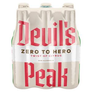 Devil's Peak Hero Twist of Citrus 330ml x 6