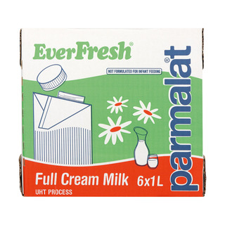 Everfresh Full Cream Long Life Milk 1l x 6
